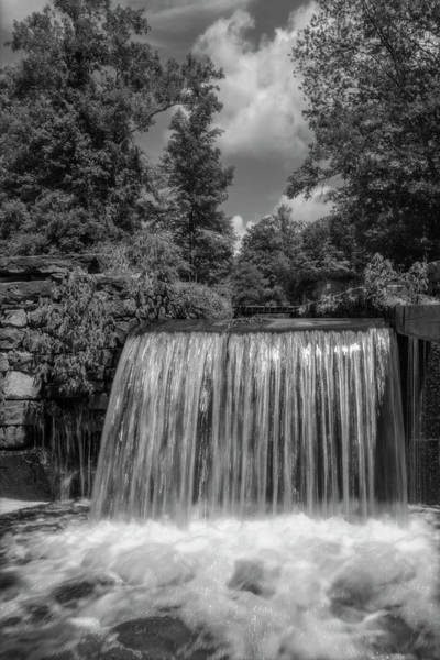 Photograph - Morris Canal Waterloo Village Bw by Susan Candelario