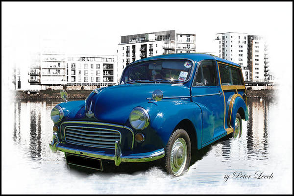 Photograph - Morris Super Minor by Peter Leech