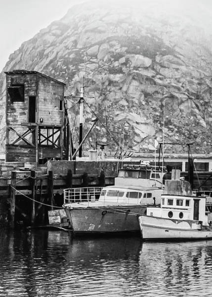 Photograph - Morro Bay 1979-1 by Gene Parks