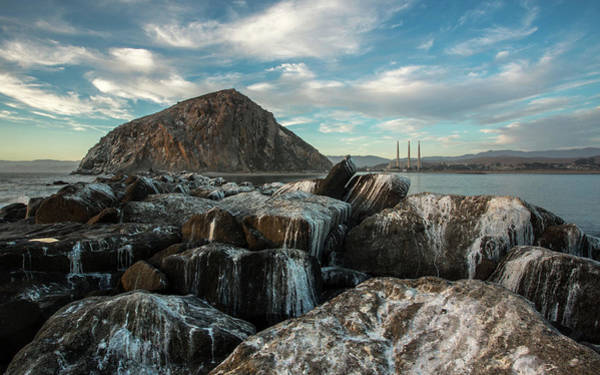 Morro Rock Breakwater Art Print