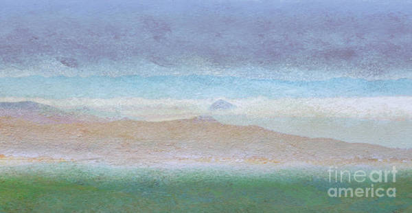 Digital Art - Morro Rock View From Hwy 46 by Shelley Myers