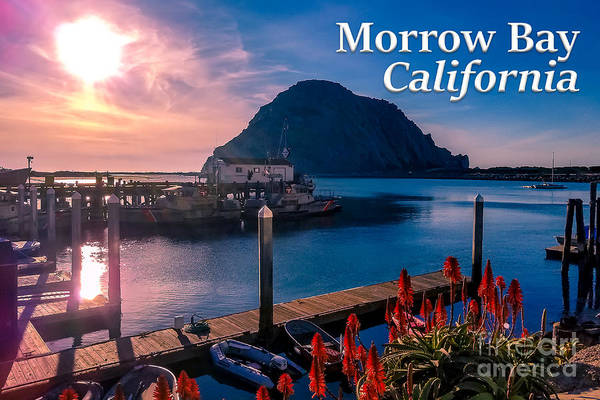 Photograph - Morrow Bay California by G Matthew Laughton