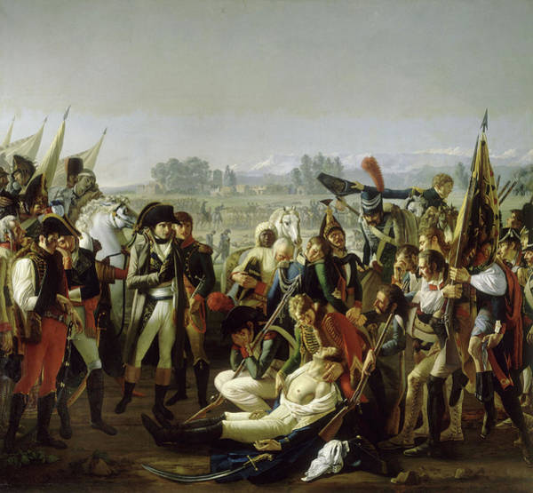 Wall Art - Painting - Mort Du General Desaix A Marengo, 1800 by Jean Broc