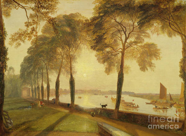 Wall Art - Painting - Mortlake Terrace, 1827 by Joseph Mallord William Turner