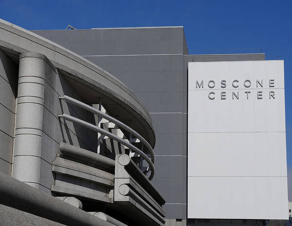 Photograph - Moscone Center by Richard Reeve