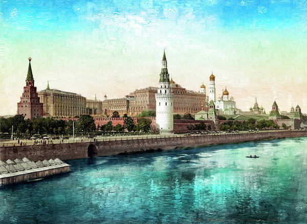 Photograph - Moscow 1895 by Carlos Diaz