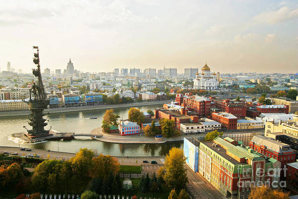 Exterior Wall Art - Photograph - Moscow, Russia by Vasily Smirnov