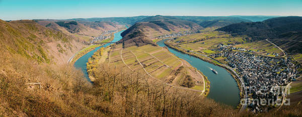 Wall Art - Photograph - Mosel River Bend by JR Photography
