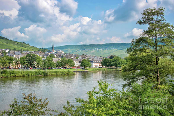 Wall Art - Photograph - Mosel Valley Landscape by Delphimages Photo Creations