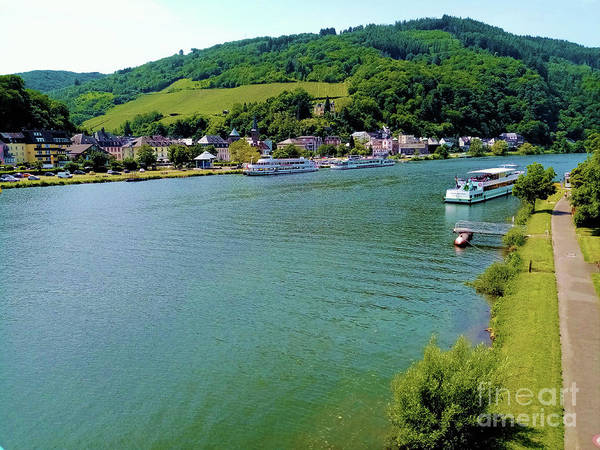 Photograph - Moselle River Germany by Aapshop