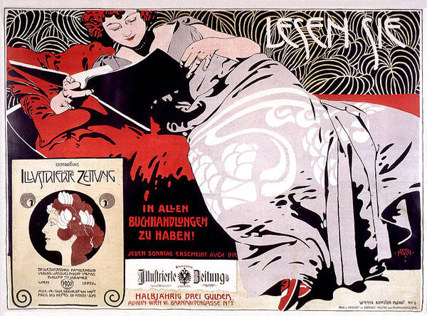 Painting - Moser Kolo 1900 Vintage French Advertising by Vintage French Advertising
