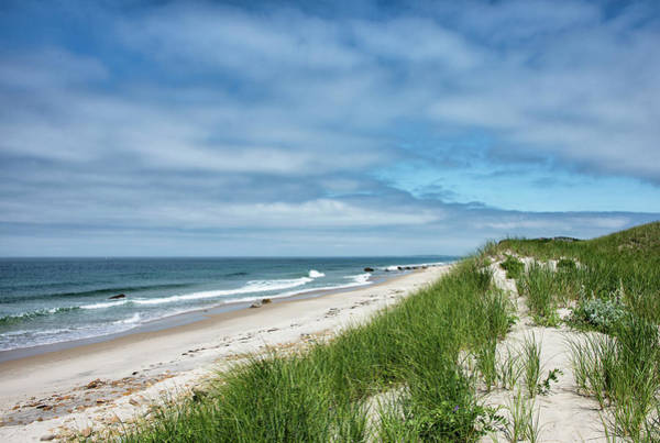Wall Art - Photograph - Moshup Beach On Martha's Vineyard - Massachusetts by Brendan Reals