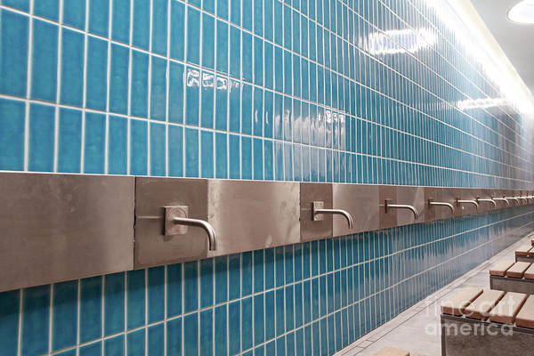 Wall Art - Photograph - Mosque Ablution Area by Tom Gowanlock
