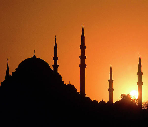 Hagia Sophia Photograph - Mosque Hagia Sofia At Sunset, Istanbul by Hans-peter Merten