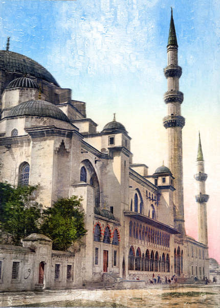 Photograph - Mosque In Turkey by Carlos Diaz