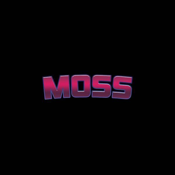 Moss Digital Art - Moss #moss by TintoDesigns