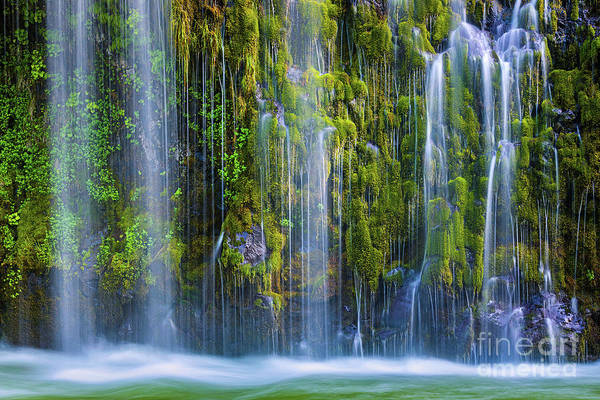 Wall Art - Photograph - Mossbrae Falls, California, Usa by Henk Meijer Photography