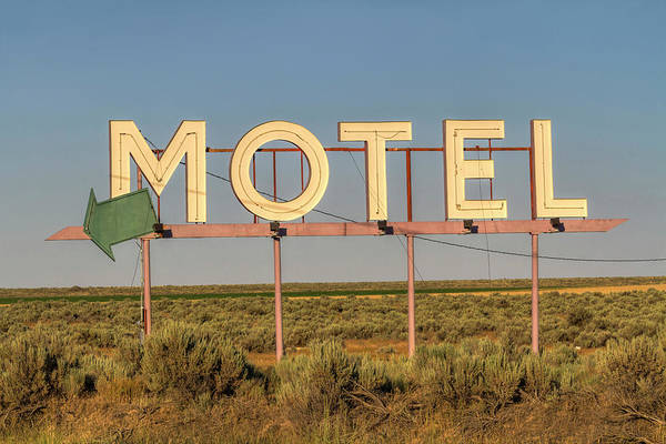 Photograph - Motel Nowhere by Mark Kiver