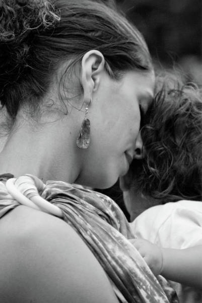Photograph - Mother And Child by Catherine Sobredo