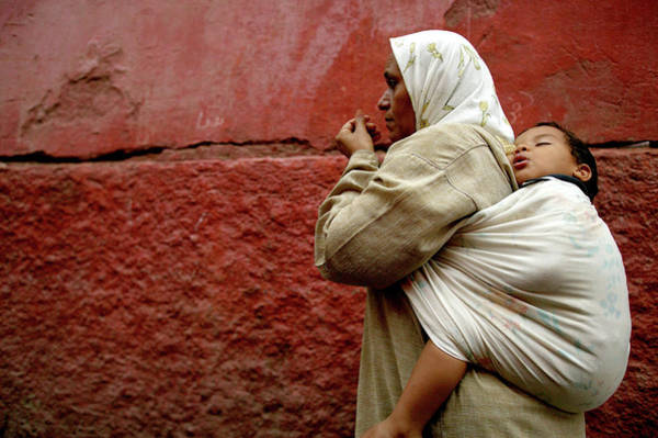 Casbah Photograph - Mother And Child In The Narrow Alleys by Lonely Planet