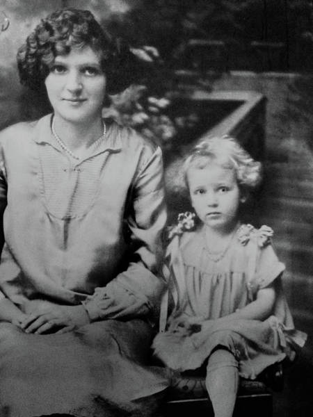 Photograph - Mother And Daughter by William Jobes