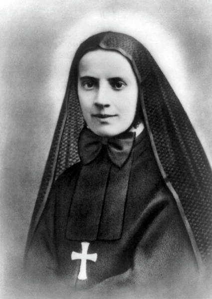 Wall Art - Photograph - Mother Cabrini, Italian- American by Science Source
