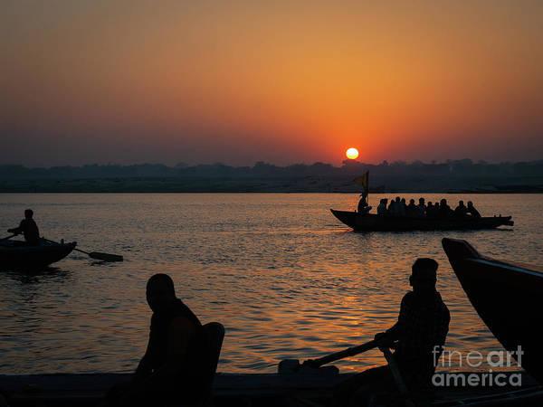 Mother Ganges Art Print