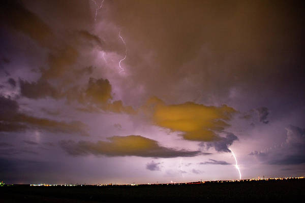 Photograph - Mother Nature's Fireworks Finale 003 by Dale Kaminski