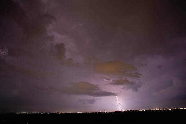 Photograph - Mother Nature's Fireworks Finale 004 by Dale Kaminski
