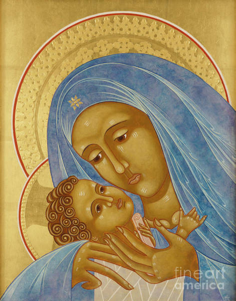 Mother Of God Painting - Mother Of God Korsun by Jodi Simmons