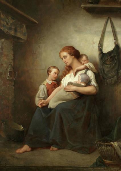 Motherhood Painting - Motherhood by Leon Goupil