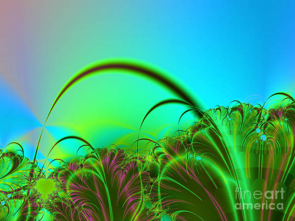 Wall Art - Digital Art - Mother's Herb Garden by Iustina