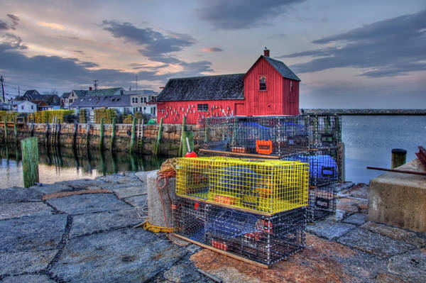 Photograph - Motif No.1 Rockport, Ma by Joann Vitali