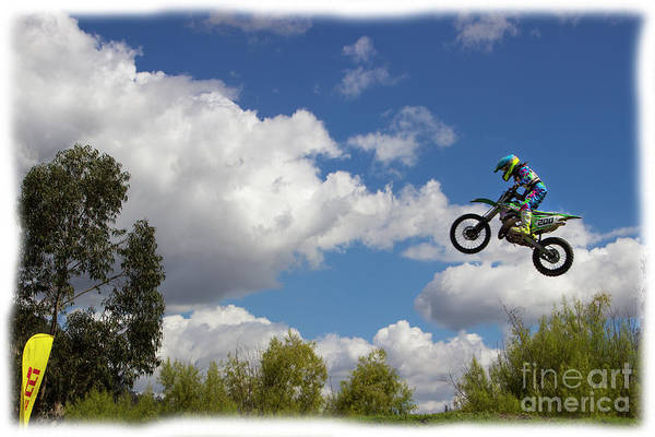 Wall Art - Photograph - Motocross Is Not For Sissies Iv by Al Bourassa