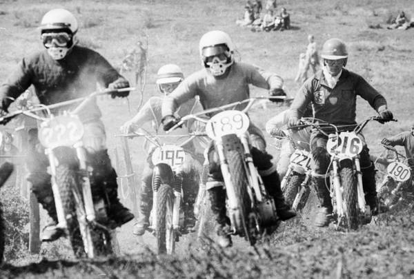 Motorcycle Racing Photograph - Motocross Race by David Cairns