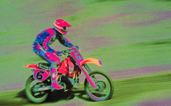 Motocross Photograph - Motocross Rider by Harold Wilion