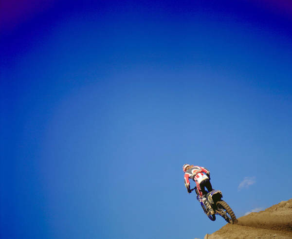 Motocross Photograph - Motocross Rider by Harry Nowell Photography Inc