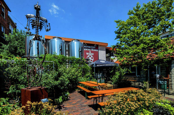 Photograph - Motor City Brewing Works by Michael Thomas