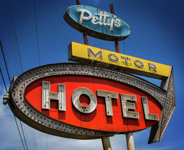 Photograph - Motor Hotel by Bud Simpson