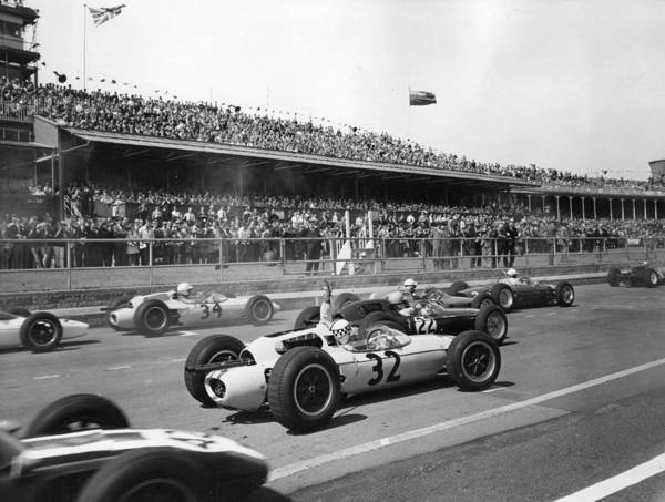 Motor Sport Photograph - Motor Race by Fox Photos