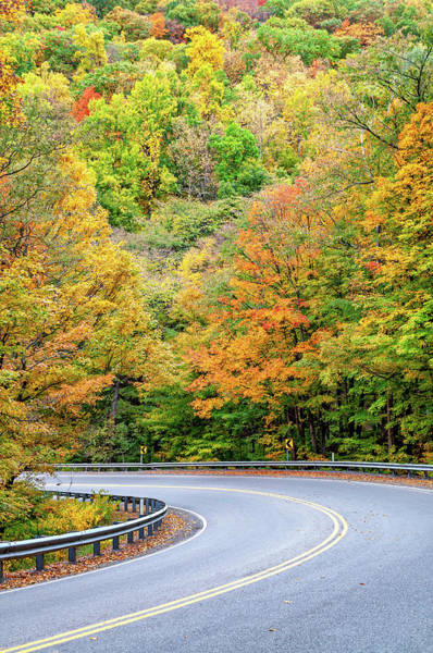 Wall Art - Photograph - Motorcycle Country - West Virginia by Steve Harrington