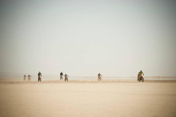 Endurance Race Photograph - Motorcycle Endurance Race, Lake Iriki by Ben Pipe Photography