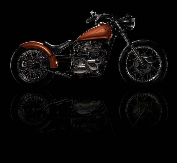 Wall Art - Photograph - Motorcycle by Heath Patterson