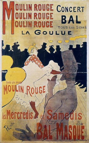 Wall Art - Painting - Moulin Rouge - 1891 - Pc 3 by Henri de Toulouse-Lautrec