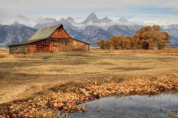 Wall Art - Photograph - Moulton Barn 2- Grand Tetons by Donna Kennedy