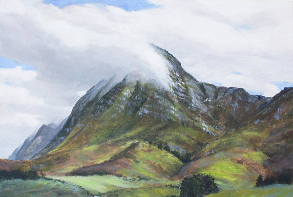 Painting - Mount Babylon by Christopher Reid