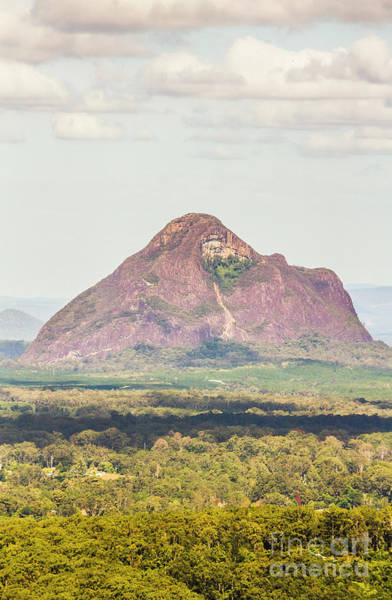 Wall Art - Photograph - Mount Beerwah by Jorgo Photography - Wall Art Gallery