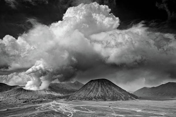 Pollution Photograph - Mount Bromo, East Java, Indonesia by Jesse Estes