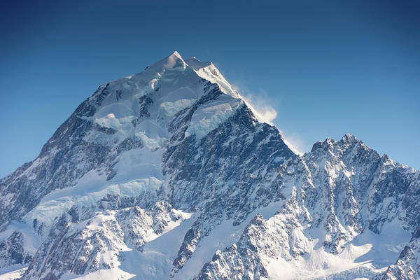 Mount Cook Aoraki Summit Ridge Art Print