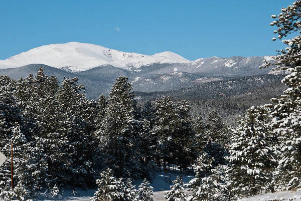 Photograph - Mount Evans Winter Landscape by Cascade Colors